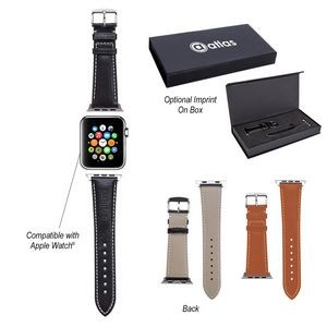 Prime Time Leather Watch Band