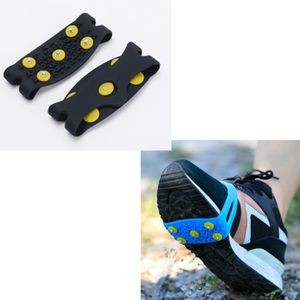 Silicone Anti-Slip Shoe Crampons (1 Pair)